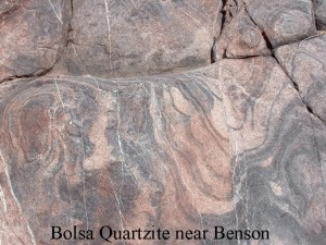 Bolsa quartzite Benson