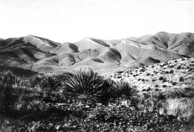 Mural Hill Bisbee 1902
