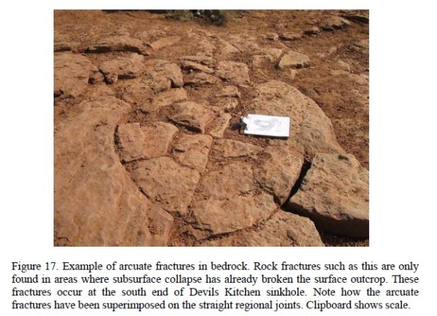 Sinkhole-arcuate