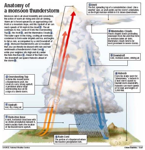 Anatomy Of A Thunderstorm Wryheat