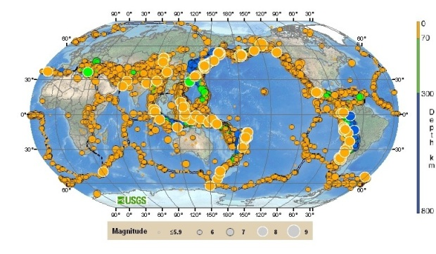 worldearthquakes-USGS