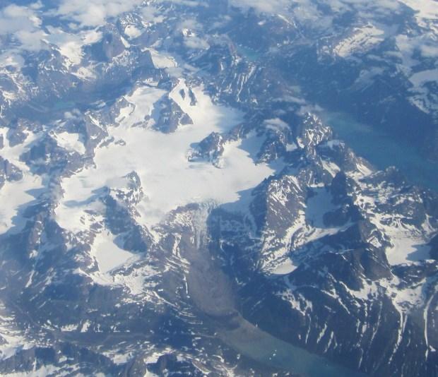 Greenland-glacier