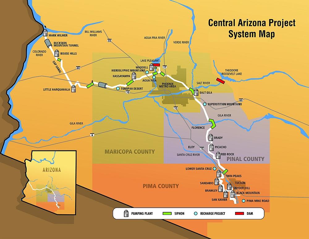 Tucson Water Supply Wryheat