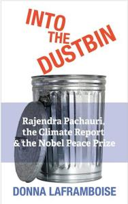 Into the dustbin cover