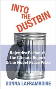 Into the dustbin cover