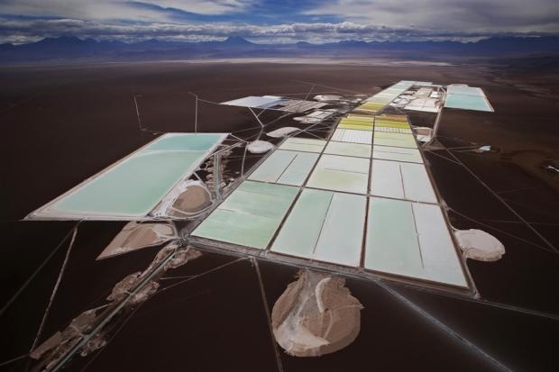 Soquimich lithium mine Atacama Chile