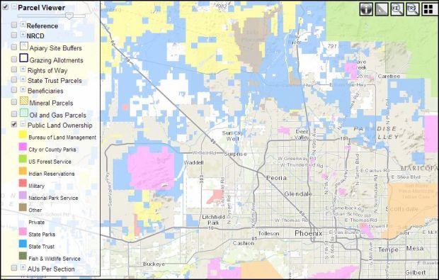 Phoenix area trust land
