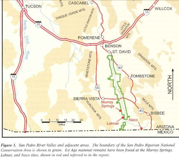 Map Of Arizona Rivers.Clovis Wryheat