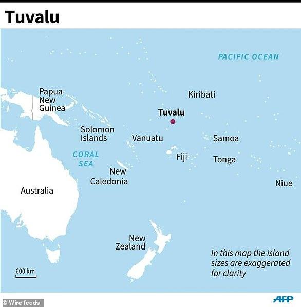 Tuvalu location map | wryheat